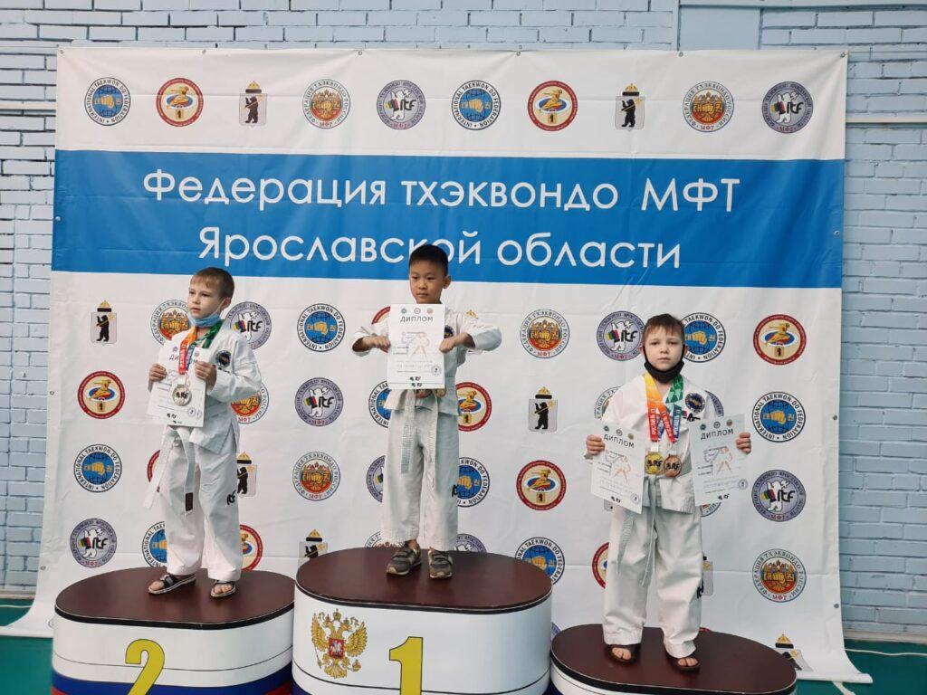 Кубок Ярославской области по Тхэквондо МФТ